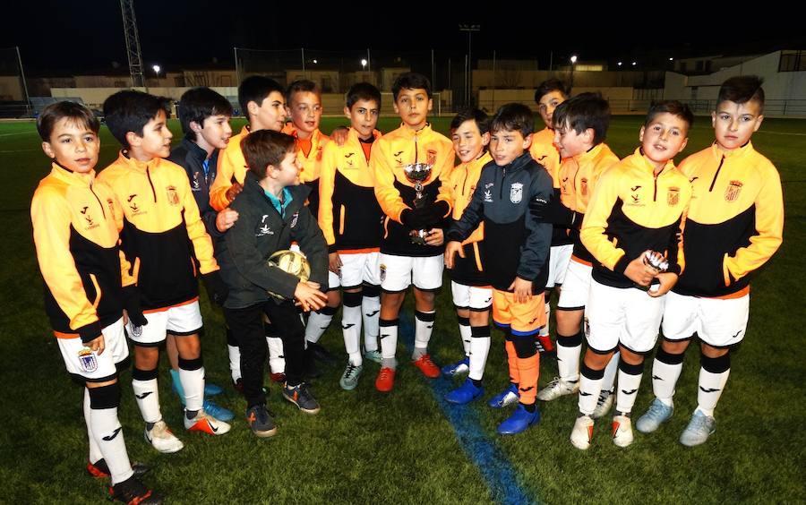 El Badajoz vence en el Torneo de Barcarrota de Fútbol 7 alevín