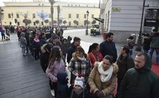 El roscón de Badajoz desborda San Francisco