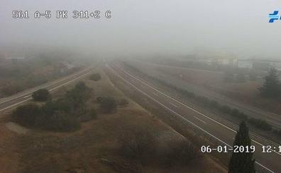 La niebla dificulta la circulación en la A-5 y la A-66 a su paso por Extremadura