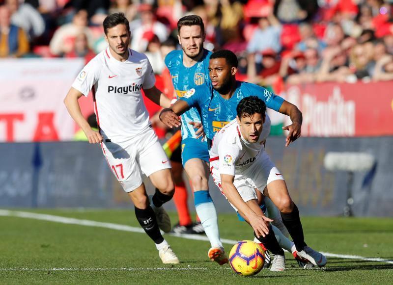 Las mejores imágenes del Sevilla-Atlético de Madrid