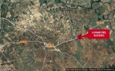 Un joven de 19 años muere en una salida de vía cerca de Guareña