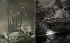 Una madre y sus dos hijos salen de una vivienda en llamas en Badajoz