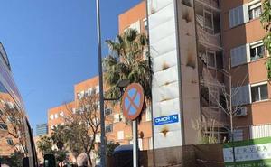 Desalojan un edificio en Badajoz tras producirse un incendio en un ascensor que estaba siendo instalado