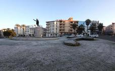 Navalmoral marca la temperatura más baja de Extremadura, -4,7º