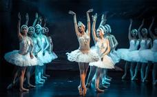 El Moscow State Ballet representa este jueves 'El lago de los cisnes' en el López de Ayala