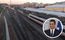 Pedro Sánchez dice que «empatiza» con los extremeños por la situación del tren