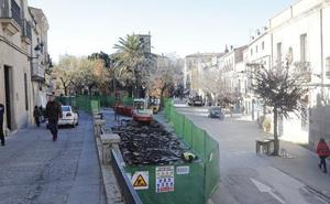 Comienza la segunda fase de las obras de reforma de la Plaza de San Juan de Cáceres