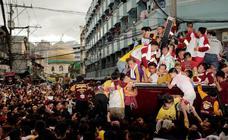 Procesión del Nazareno Negro en Manila