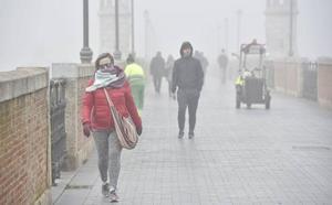 La ola de frío trae un descenso de las temperaturas y mantendrá a la región bajo cero grados