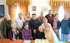 La vecina de Campanario Isabel cumple 100 años