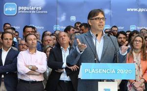 Pizarro optará a la reelección a la Alcaldía placentina por tercera legislatura consecutiva