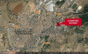 Herido grave un pintor de 44 años al caerse cuando trabajaba en Jerez de los Caballeros