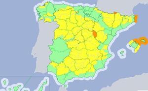 Extremadura, entre las pocas zonas de España que no estarán en riesgo este viernes