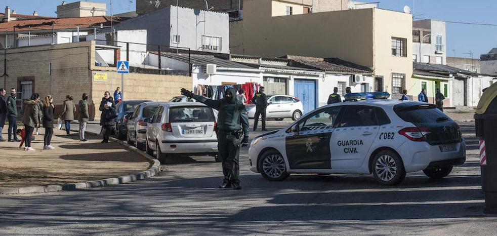 Operación contra la droga en el barrio pacense de La Picuriña