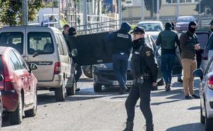 Al menos siete arrestos en una operación antidroga conjunta de la Guardia Civil y la Policía