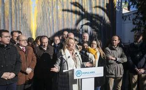 Monago presenta a Nevado como una candidata «ya testada» a la alcaldía