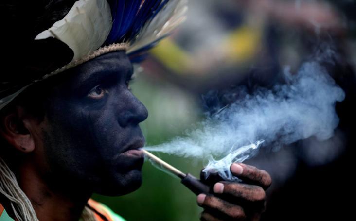 Indígenas brasileños rechazan que el Ministerio de Agricultura se encargue de demarcar reservas