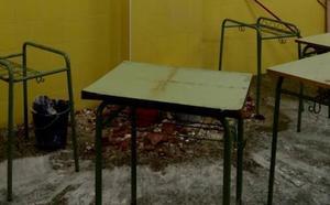 El colegio Extremadura, en Cáceres, sufre su segundo reventón en una semana