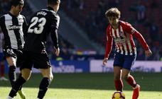 Las mejores imágenes del Atlético-Levante