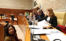La Asamblea inicia el debate de las enmiendas al Presupuesto de Extremadura para 2019
