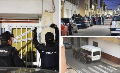 La detención de un okupa hace desplegar un gran dispositivo policial en Cáceres