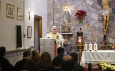 El acto del Lignum Crucis celebra su XV aniversario en la Cruz Blanca de Cáceres