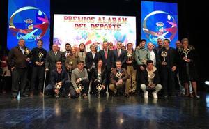 Noche de nervios, emoción y deporte en los Premios Alabán de Don Benito