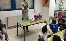 El centro de salud de El progreso enseña a desayunar en los colegios