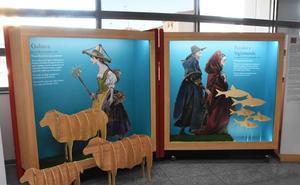 Los personajes de Cervantes, en la biblioteca del Estado