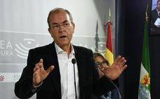 Monago dice que los PGE tienen un acento «netamente catalán» y ninguno extremeño