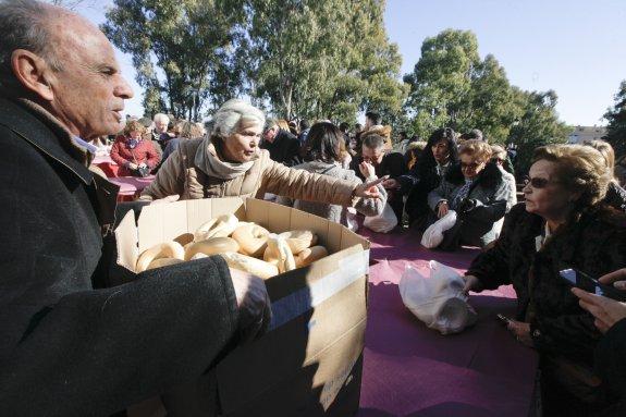 Roscas de anís, patatera y migas, este domingo en la romería de los Santos Mártires de Cáceres