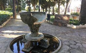 Aparece rota otra fuente de La Piedad en Almendralejo