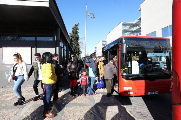 Resultado de imagen de fin de trayecto autobus
