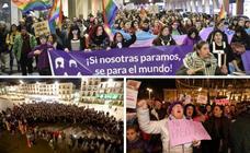 Las mujeres se echan a la calle en Extremadura para proteger sus derechos