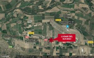 Herido al caerse de la bicicleta cerca de Villafranco del Guadiana