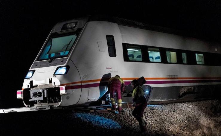 Adif confirma que el tren descarriló en Torrijos por un sabotaje