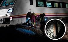 Al menos seis sabotajes en menos de 15 días en la línea del tren Badajoz-Madrid