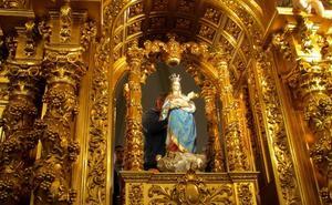 La Virgen del Salobrar regresa a su ermita tras meses de obras