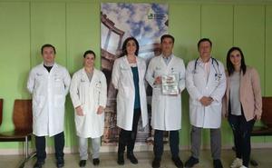 El Servicio de Neumología del Hospital de Mérida recibe el Premio Syneos