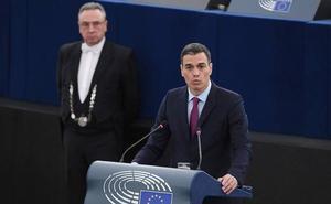 Sánchez defiende en Europa la pertinencia del juicio del 'procés'
