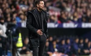 Simeone: «Yo prefiero jugar mal y pasar siempre»