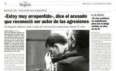 Así contó HOY el caso del 'violador de la Madrila' en Cáceres