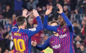Messi revitaliza a Dembélé y Coutinho