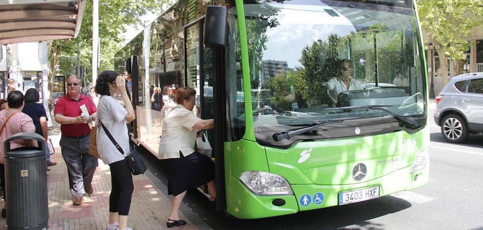 El bus urbano gana 250.000 viajeros en tres años de subidas consecutivas