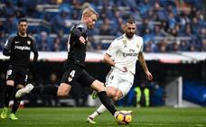 Real Madrid-Sevilla, en directo