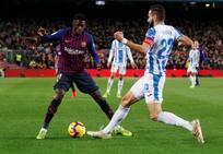 Las mejores imágenes del Barcelona-Leganés
