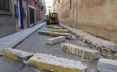 Comienza la construcción de la plataforma única en la calle López Prudencio de Badajoz