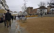 El Consorcio inicia los trámites para arreglar las fuentes de la Plaza Mayor de Cáceres
