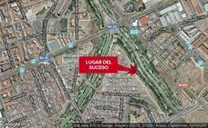Herido un motorista de 63 años en un accidente en Badajoz