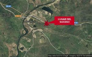 Herida una mujer de 68 años tras salirse de la vía cerca de la localidad cacereña de La Bazagona